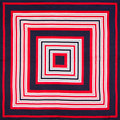 100% Silk Scarf Women Scarf Stripe Neckerchief Square Scarf Silk Bandana 2017 Top Print Small Square Silk Scarf Gift for Lady