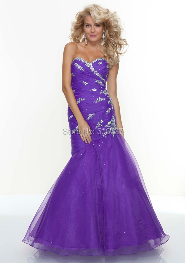 Online Get Cheap Bright Purple Prom Dresses -Aliexpress.com ...