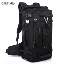 купить Laptop Backpack Shoulder Bags Large Capacity 40l Men Luggage Travel Bags Multifunction Out Door Waterproof Menbag дешево