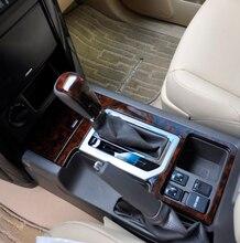 23PCS Wooden Dash Board Cover Interior Panels For Toyota Land Cruiser Prado FJ150 Accessories