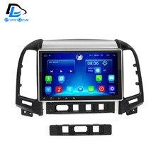 2 г 32 г дополнительный Android 6.0 Автомобильный GPS Мультимедиа Видео Радио в тире для Hyundai Santa Fe 2005 -2012 год навигации стерео