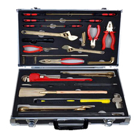 Antiscintilla Instruments of Combination Sets 36pcs Copper Alloy Hand Tools ex Proof and Safety