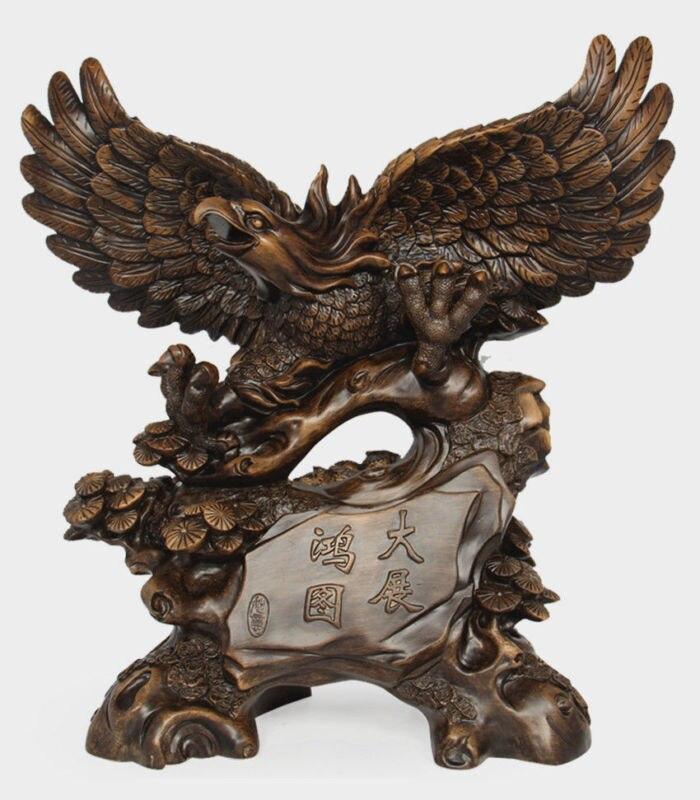 Art Deco Sculpture Resin Eagle StatueArt Deco Sculpture Resin Eagle Statue