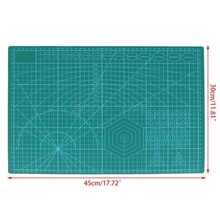 A3 Grid Lines Cutting Mat Craft Scale Plate Card Patchwork DIY Paper Board Sewing Tools a3 cutting mat cutting board cutting plate 45cmx30cm