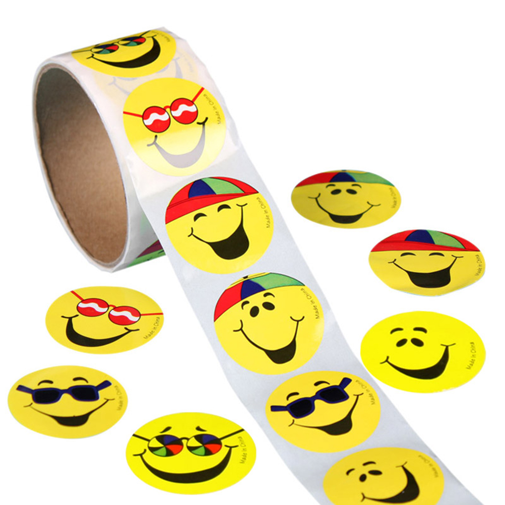 Buy 2016 emoji sticker pack 100pcs mini paper stickers smile face thumbs stars for Autocollant mural