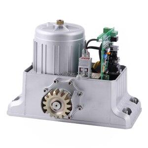 Image 4 - ヘビーデューティ 1800 キロ自動電動スライドゲートモーターオープナー 6 キーフォブ 4 メートル/5 メートルラック (センサーランプキーパッド GSM オプション)