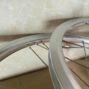"""Image 4 - バイクホイールセット 1 3 速度 16 × 1 3/8 """"349 を kinlin NB R リム 14 h/21 h ブロンプトン用 3 シックス超軽量折りたたみ自転車ホイール 800 グラム diy"""