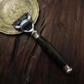 De afeitar razor set con caja de regalo, mango woodle afeitar, cepillo baber conjunto de afeitar