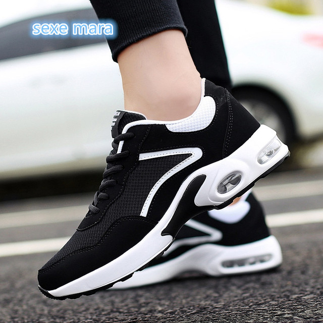 ca7e6fe325ec NEW Hot Sale air cushion top Running Shoes For Men Sneakers woman Outdoor  Comfortable Athletic Women Sports Shoes man Trainers