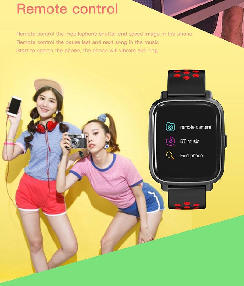 VERYFiTEK SN12 Smart Watch IP68 Waterproof Heart Rate Monitor Blood Pressure Bluetooth Smartwatch Men Women Sport Fitness Watch (12)
