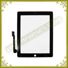 Nuevo Blanco Negro 7.9 Pulgadas Para El Ipad 3 4 A1416 A1430 A1403 Panel de Pantalla Táctil de Cristal Digitalizador Reemplazo Probado