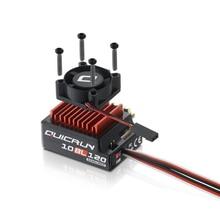 Hobbywing QUICRUN 10BL120 Sensored 120A / 10BL60 Sensored bezszczotkowy ESC regulator prędkości dla 1/10 1/12 RC Mini Car
