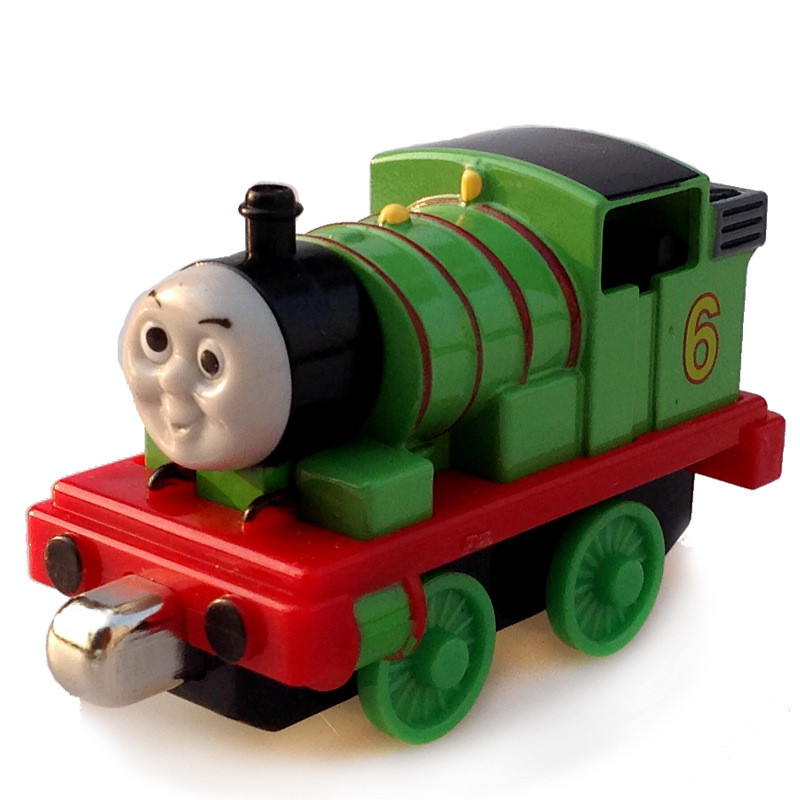 Diecast Percy THOMAS and friend Magnetic NO.6 The Tank Engine take along train metal children kids toy gift ...