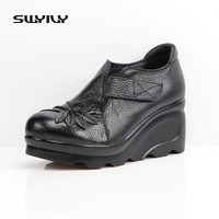 2017 New Women Sandals Soft Leather Summer Women Genuine Leather Handmade Comfortable Flat Casual Women Sandals