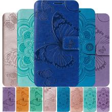 Solid Color Lady Cover sFor Huawei Mate 20 Pro P30 Lite Nova 3i 4 Honor V20 10 8X 8C Classic Pattern Leather Phone Bag P06F