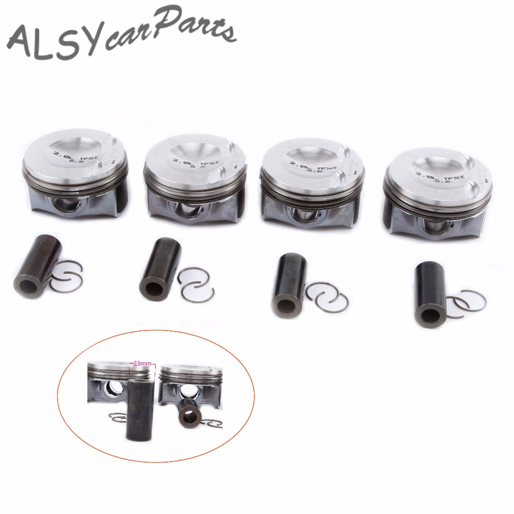 KEOGHS OEM 82 5mm Engine Pistons Piston Rings Assembly Pin 23mm 06H 107 065 DD For