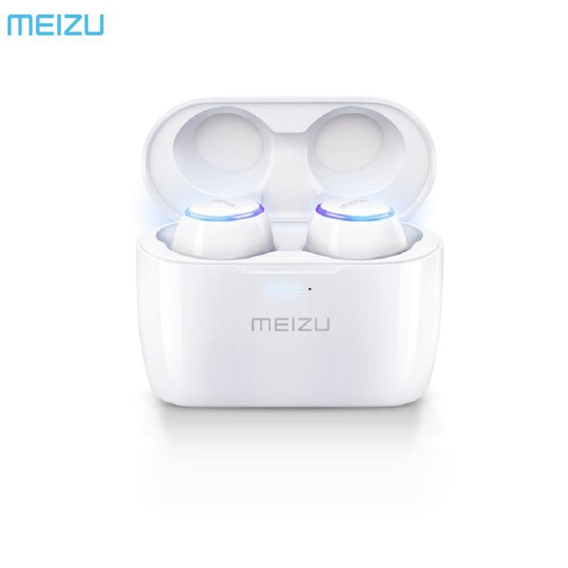 24Hours Ship Original Meizu POP TW50 True Wireless Bluetooth Earphone Mini TWS Sport Headset For Xiaomi iphone 7 8 Plus Samsung