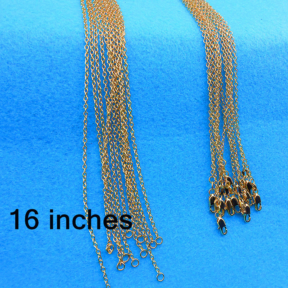 16 inch 5PCS Free shipping GOLD FILLED