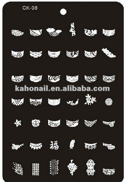 16pcs/lot Free shipping Nail Art Stamp Template  Large Size 145*95mm Stamping Image Plate Nail Stencils
