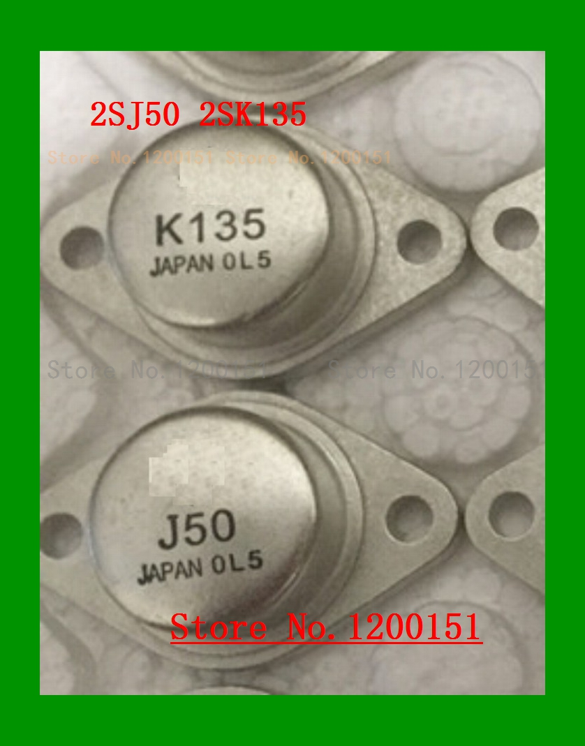 2pcs/lot 2SJ50 2SK135 J50 K135 A pair TO 3-in Integrated Circuits from Electronic Components & Supplies