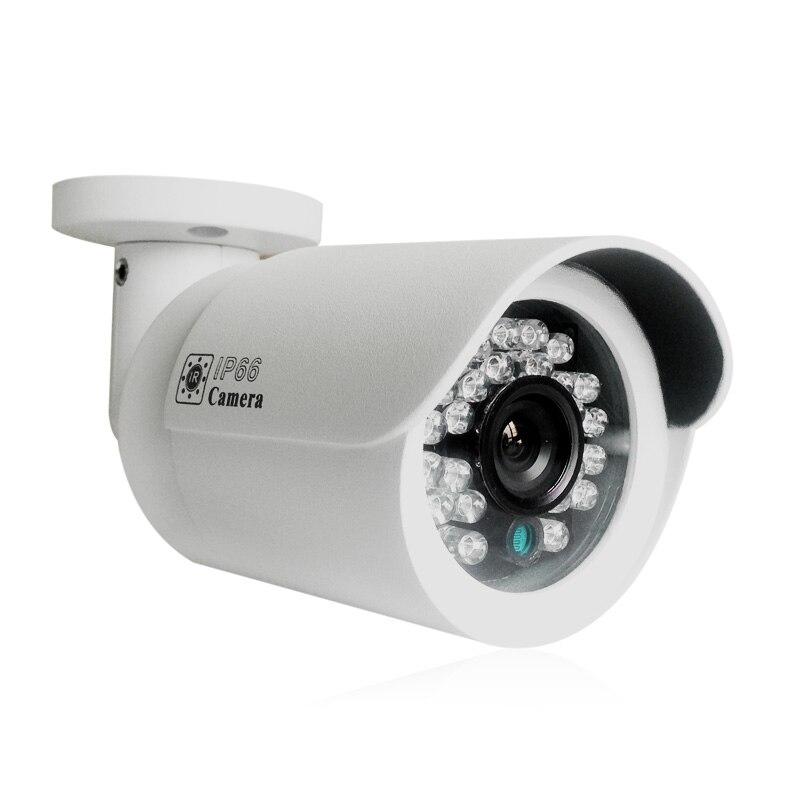 Kamera IP Onvif POE 20m Podczerwień Night Vision Wodoodporny CCTV - Bezpieczeństwo i ochrona - Zdjęcie 2