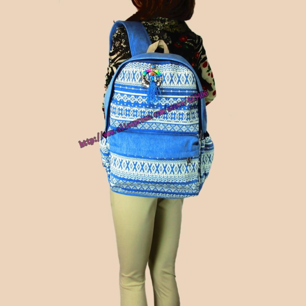 Tribal Vintage Hippie Ethnic Boho rucksack Boho hippie ethnic bag, backpack bag full printing, colorful SYS-369