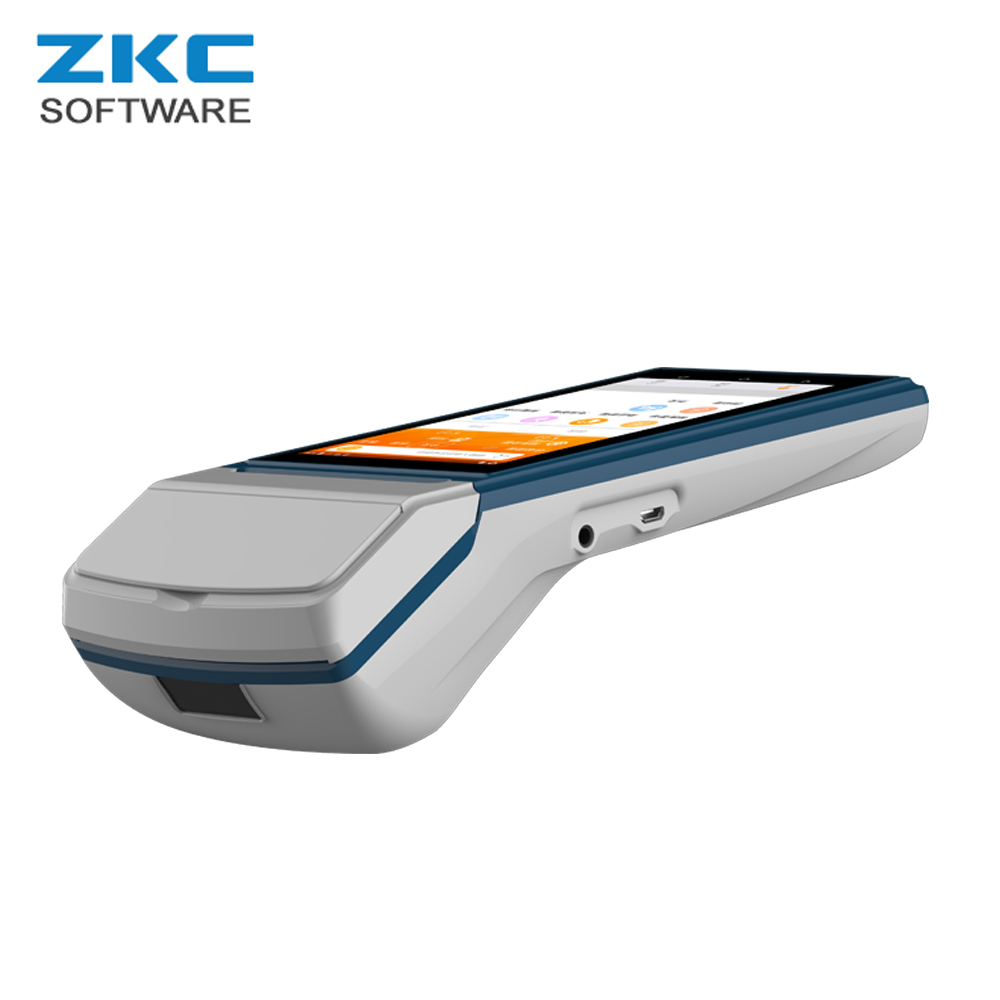 US $105 0 |GSM GPRS WCDMA WiFi RFID Mobile Android Alipay Por Top up POS  Payment Terminal Device System ZKC5501-in Printers from Computer & Office  on