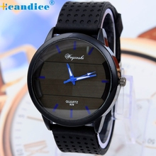 Reloj 2017 de la alta calidad caliente de la venta 1 unid hombres motion sport reloj hora de cuarzo muñeca de goma de silicona reloj analógico 17mar2
