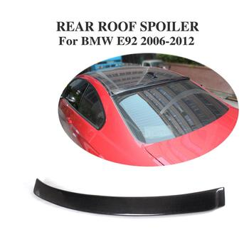 Carbon Fiber Dakspoiler Venster Trim Sticker Lip Vleugel voor BMW 3 Serie E92 M3 2-Deur 2007 -2013 Auto Tuning Onderdelen