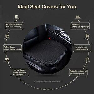 Image 4 - luxury Car seat cover car ice silk anti slip seat cushion cool seats cushions Automobile Seat Cover Cushion Pad Mat