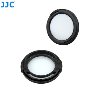 Image 2 - JJC Camera Lens Protective Filter Card 49/52/55/ 58/62/ 67/72/77mm White Balance Lens Cap for Sony/Nikon/Canon/Olympus/Pentax