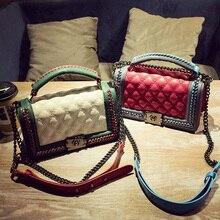 Female handbag chain autumn and winter 2016 new fashion lady shoulder diagonal bag handbag Korean small fragrant messenger bag