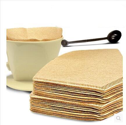 где купить 100 pcs / pack original wooden hand drip paper filter for espresso coffee coffee filter packs tea bag green tea brewing filter по лучшей цене