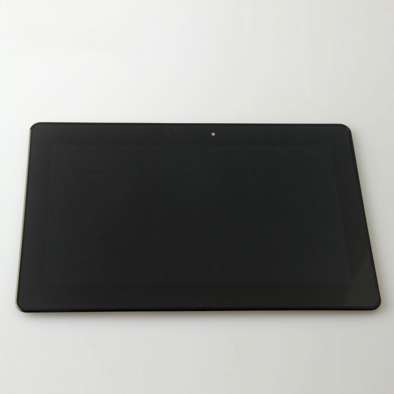 10 1 Touch Screen Glass LCD Display Panel Screen frame assembly For Asus VivoTab RT TF600