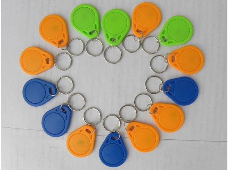 No. 3;  125Khz RFID Proximity Keyfobs Ring Access Control Card Rfid Red Yellow Blue Tags 100pcs=1 lot turck proximity switch bi2 g12sk an6x