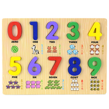 Montessori Educational toy Teaching Logarithmic Matching Plate Calculation Digital Mathematical Cognitive Toys for children