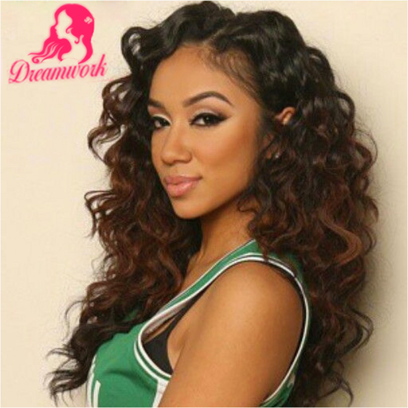 two toned lace front ombre curly