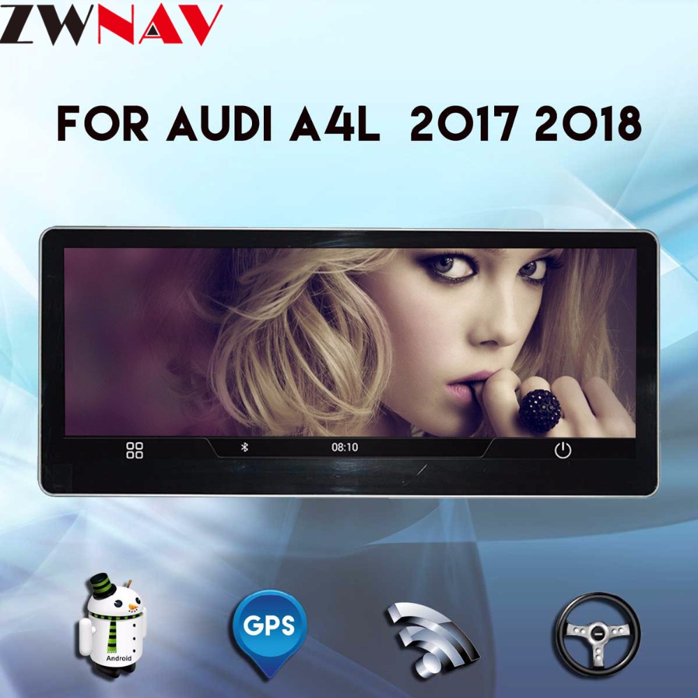 <font><b>Android</b></font> car multimedia player head unit For <font><b>Audi</b></font> A4L 2017 2018 <font><b>Radio</b></font> Stereo CD DVD Player GPS Navi Navigation System autostereo image