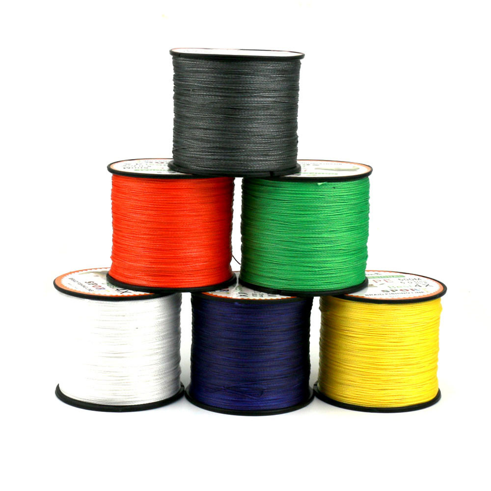 High Quality500M PE Fishing Line Strong Power Super Braided Lines Strands Wire for sea fishing, ideal for fish enthusiast