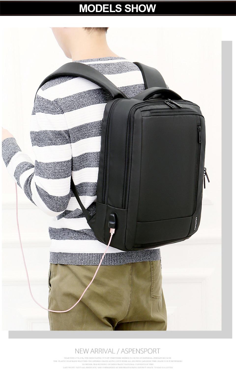 10 Multifunction USB Backpack Man Bag 15.6inch Laptop Backpacks Travel Bags Large Capacity Luggage Backpacking Waterproof Notebook