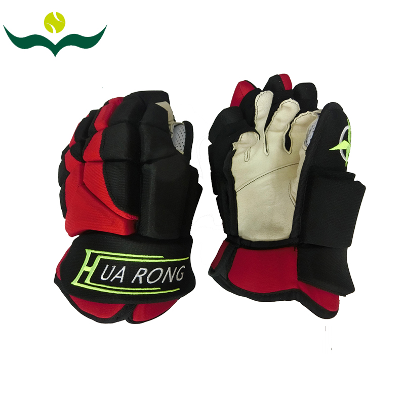 wujifeng Ice Hockey Gloves 2016 Red High level 8-15'' Ice  Hockey Protector #160912_w52 wujifeng european children hockey sports ice hockey stickscomposite material ice hockey sticks for children 160704 w36