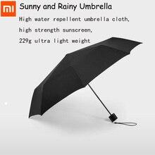 Xiaomi Pinluo Sonnig und Regnerisch Dach Aluminium Winddicht Wasserdicht UV Sonnenschirm Mann frau Sommer Winter Hand/Automatische Option