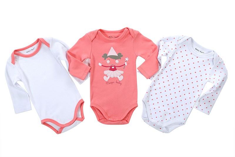 Комплект из 3х боди для малыша | Aliexpress