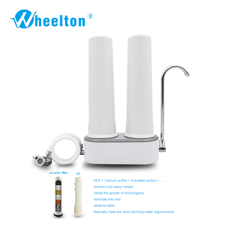 Hard-Working High-end Water Purifier Faucet Mount Filter Activated Carbon Filter Water Home Desktop Kitchen Tap Water Filter Water Filter Parts Home Appliance Parts