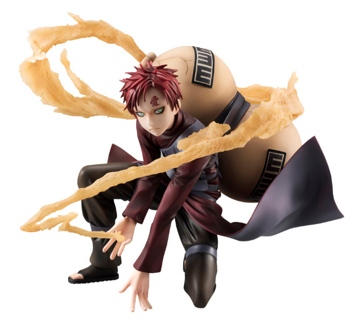 HKXZM Anime Figure 19CM Naruto Shippuden Gaara of the Sand PVC Figure Collectible Model Toys Gift