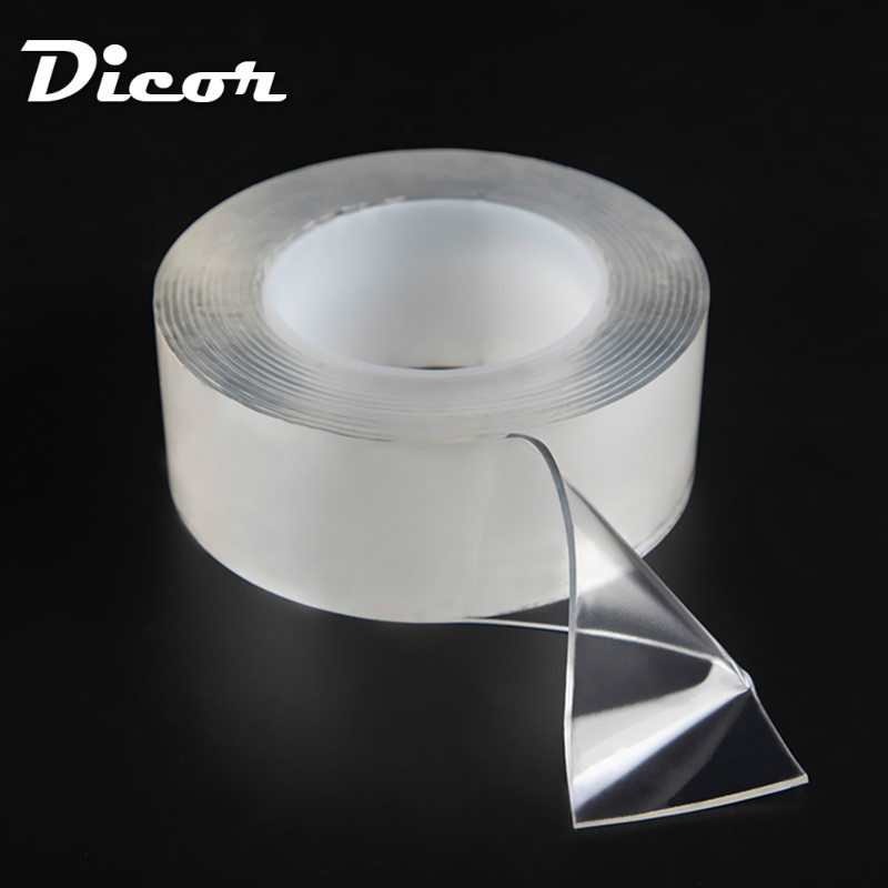 1M 3M 5M Strength Acrylic Gel Transparent Double Sided Tape Household Wall Hangings Adhesive Glue Tapes Car Sticker DIY Material1M 3M 5M Strength Acrylic Gel Transparent Double Sided Tape Household Wall Hangings Adhesive Glue Tapes Car Sticker DIY Material