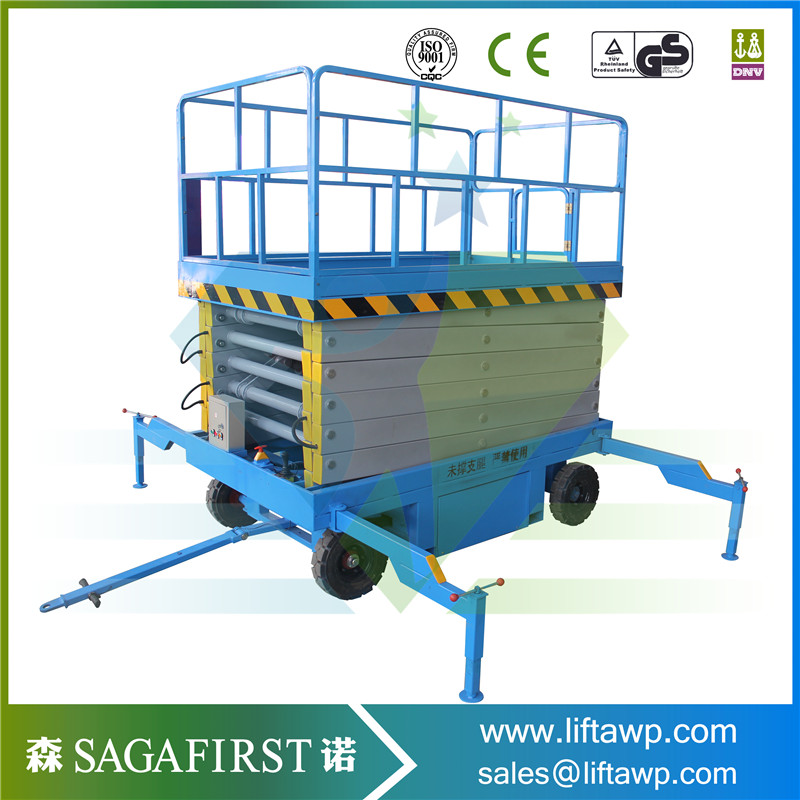 Chinese Full Electric Lifting Platform Scissor Lift Pricelist