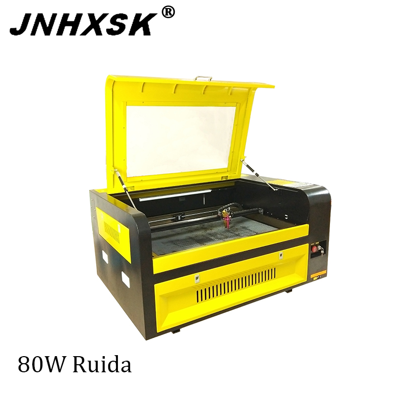 3D Laser Engraving Machine 6090 80W Laser Cutter For Woodcut/Gourd/Bamboo Tube/Acrylic/Rubber/Leather