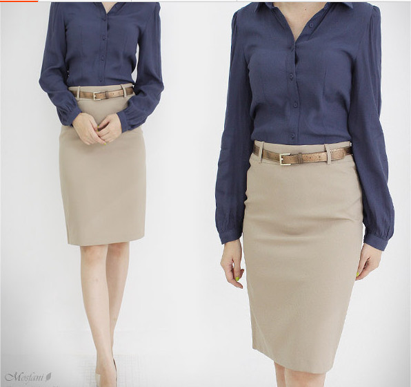 Compare Prices on Khaki Pencil Skirts for Women- Online Shopping ...