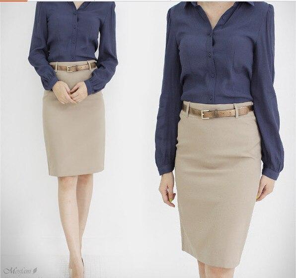 Popular Plus Size Khaki Skirt-Buy Cheap Plus Size Khaki Skirt lots ...